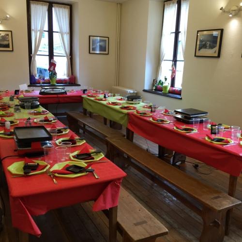 Salle à Manger Soirée Raclette